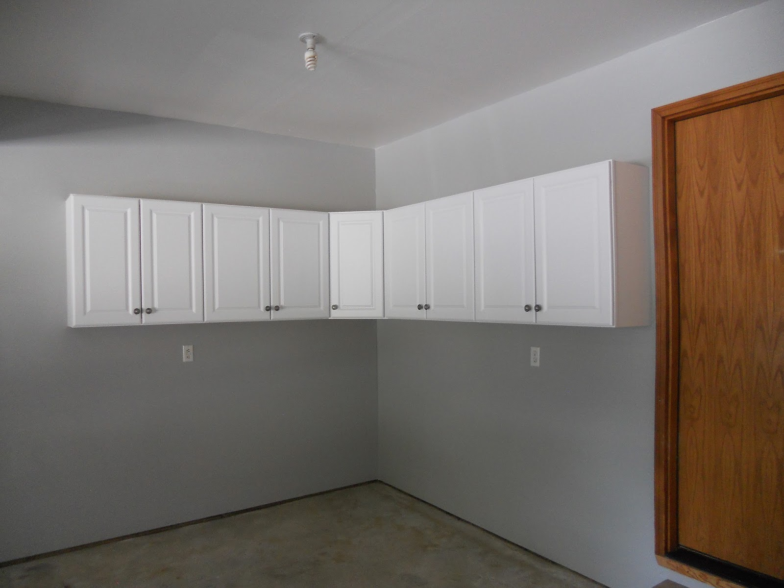 Just another hang up garage renovation cabinets - Wall cabinet design ...