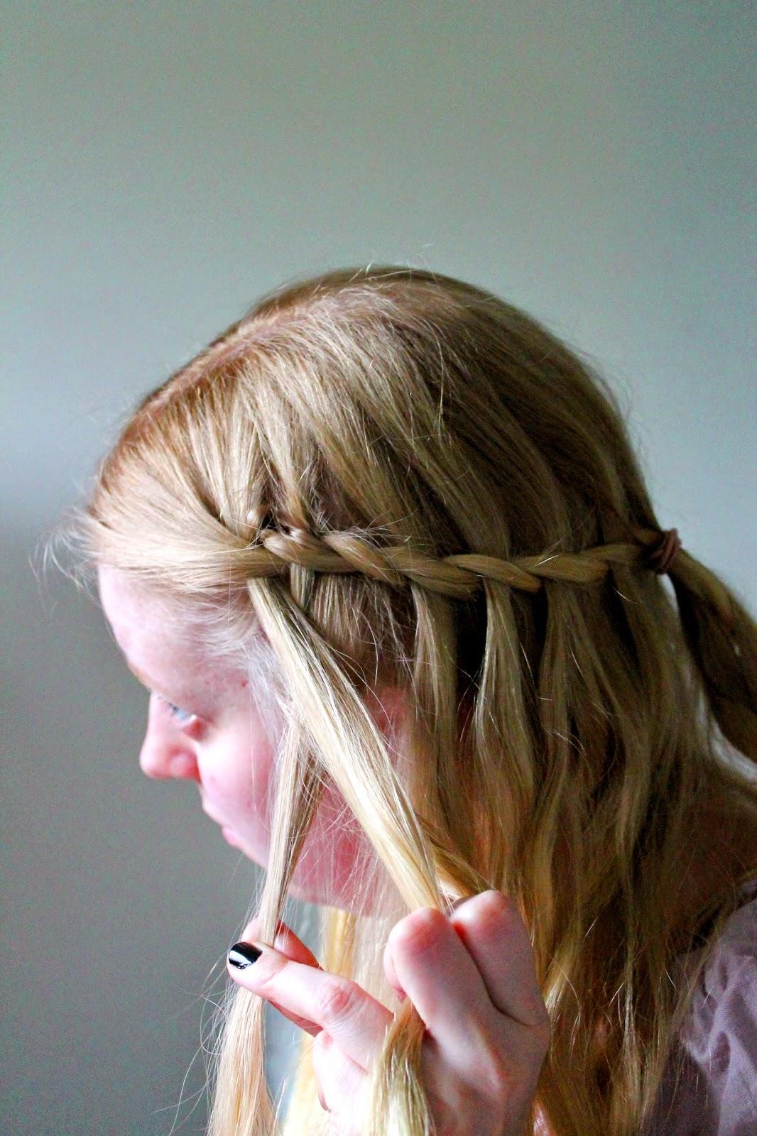 Game of thrones double waterfall braid how to | Alinan kotona blog