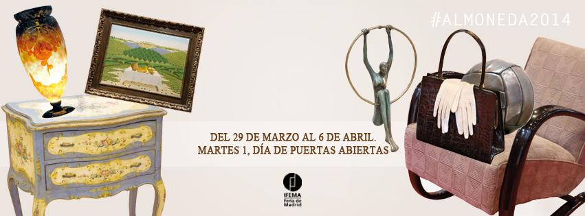 ALMONEDA, la feria del coleccionísmo y la decoración.