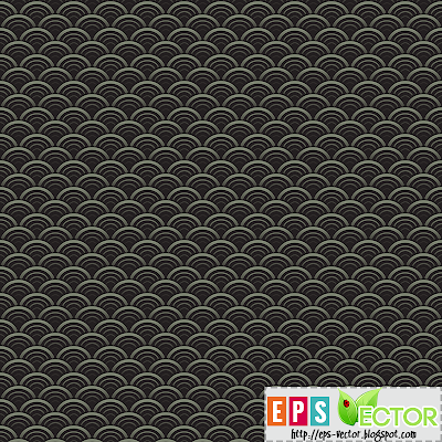 [Vector] - Oriental waves seamless pattern