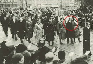 Prince Phillip at Nazi funeral