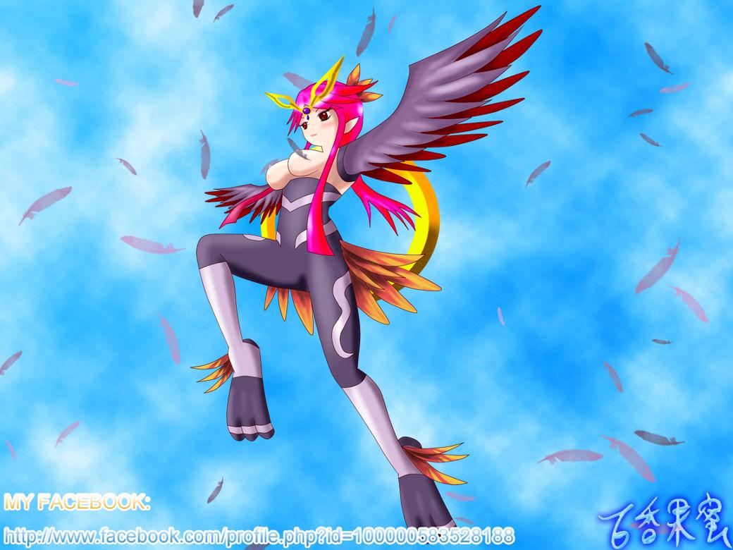 鳥人女王 por 百香果蜜
