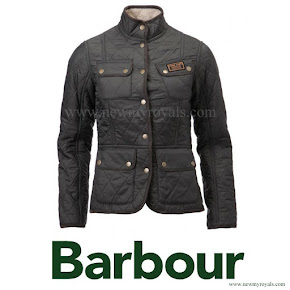 Crown Princess Mary wore Barbour Winter Vintage Jacket