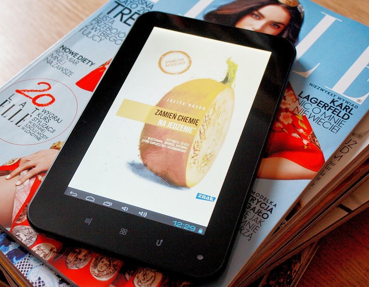 książka, ebook, Julita Bartor, zamień chemię na jedzenie