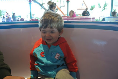 Ethan on Mad Tea Party Teacups