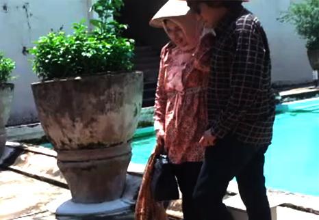 Napak Tilas Ikang Fawzi & Marissa Haque, di Tamansari Yogyakarta, 2011