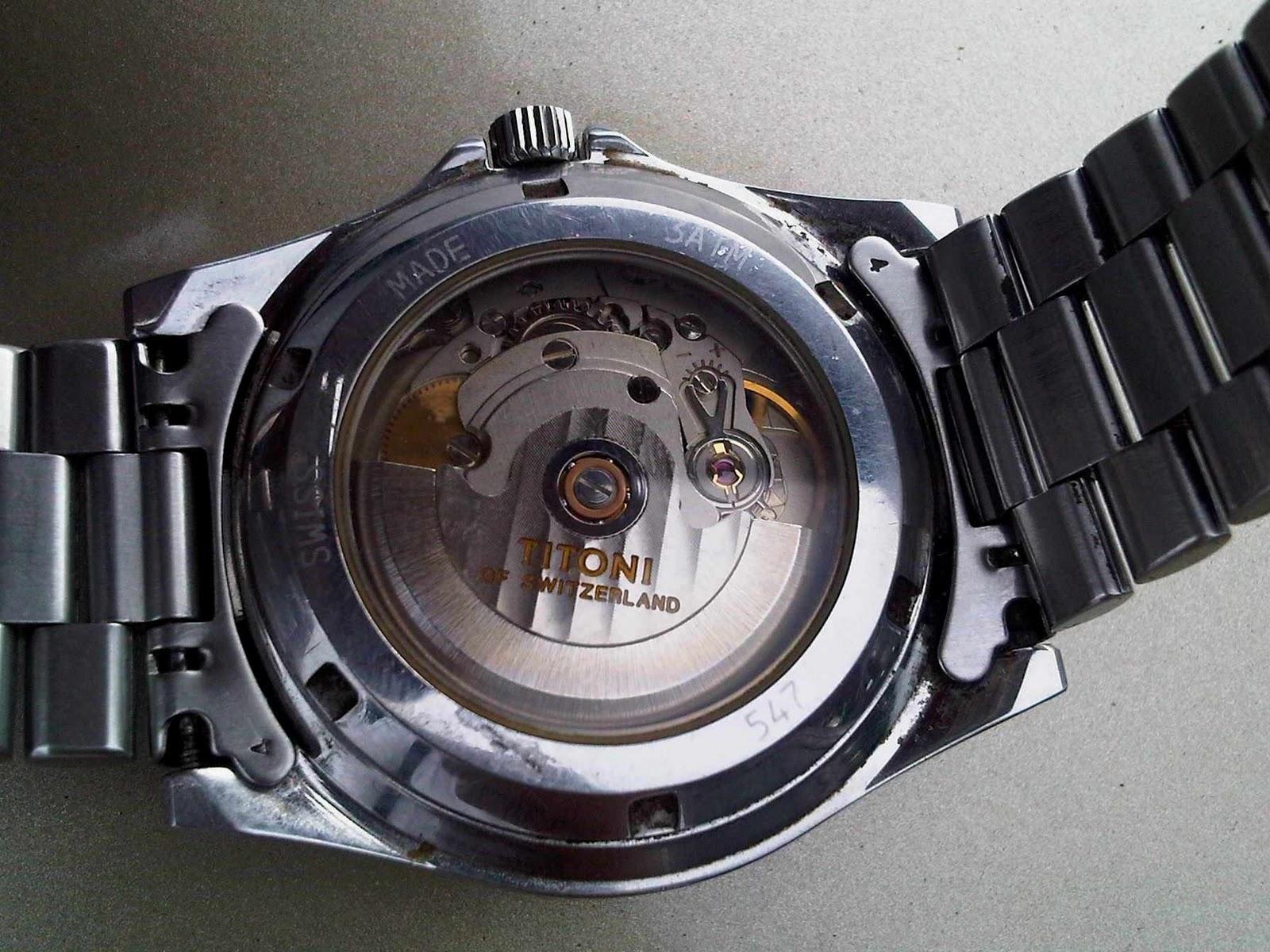 Arloji Doeloe Titoni Automatic Discontinued 547 Sy 038 Sold Rolex Gmt Kombinasi Swiss Mesin 2838 2 Sebelumnya Initergolong Discontinue Product Atau Kata Lain Tidak Di Produksi Lagiarloji Ini Memakai Movement Eta Cal 2824 225