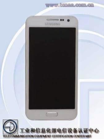 Foto resmi Samsung Galaxy A3 (SM-A300H), body ultra-slim