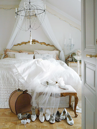 Theme design decorating ideas in white house furniture - Dormitorios vintage blanco ...