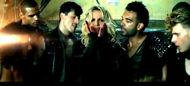 britney spears till the world ends video shoot. ritney spears till the world