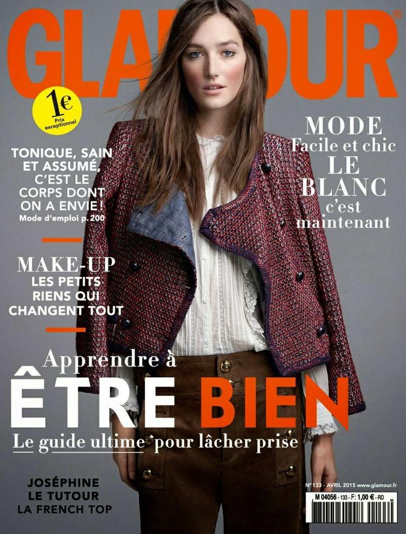 Fashion Model @ Josephine Le Tutour - Glamour France, April 2015