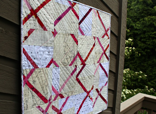"Crosscut Quilt-Along bei ""A Quilter´s table"""