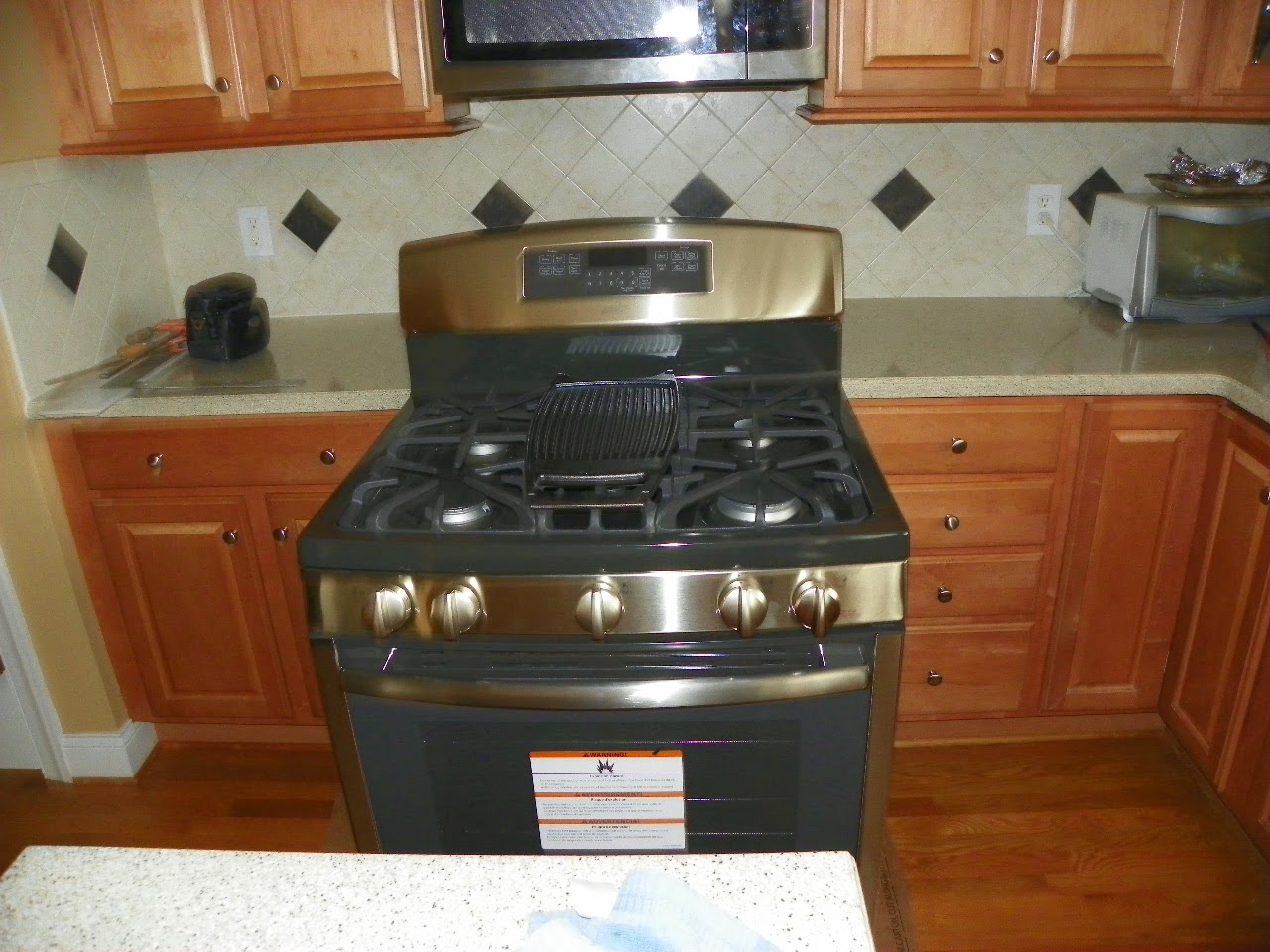Stove Countertop Replacement : ... Repair Blog: Countertop Alteration To Retrofit Freestanding Stove in