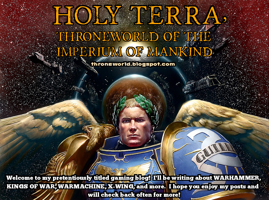 Holy Terra, Throneworld of the Imperium of Mankind