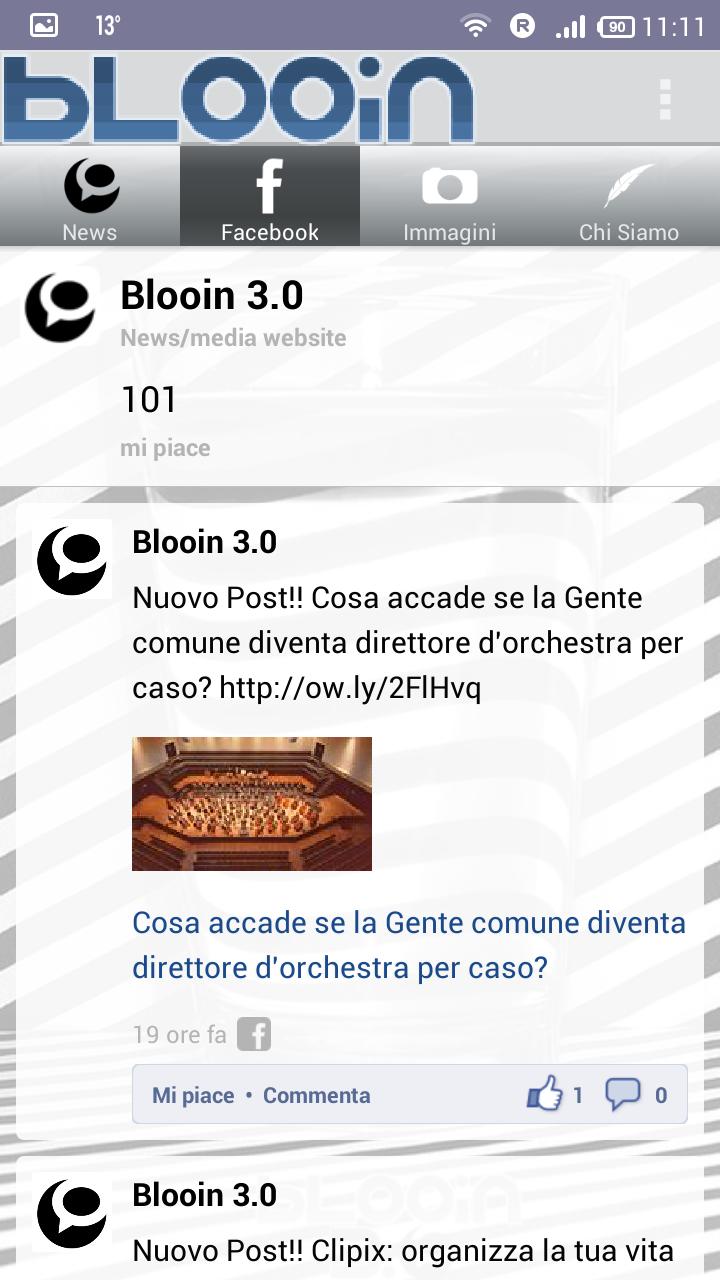 applicazione blooin 3.0