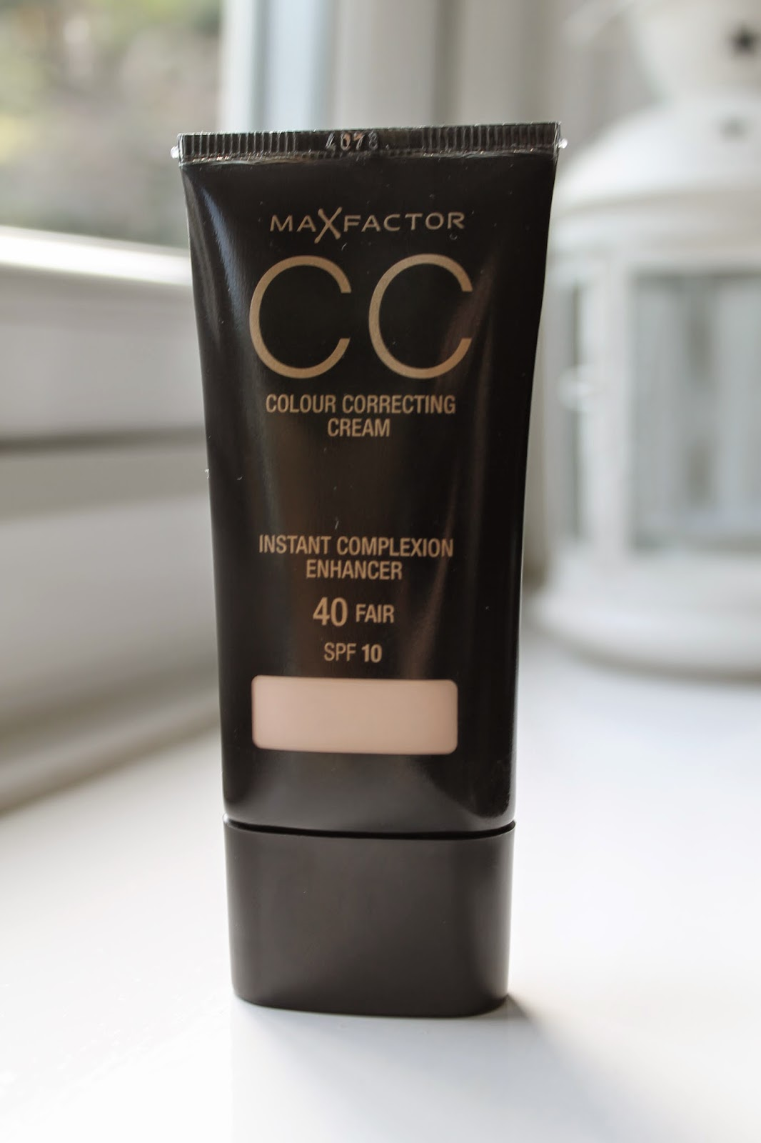 Max Factor CC Cream in Fair 40 Review