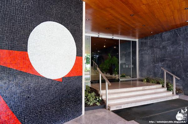 Paris 13ème - Immeuble Le Périscope  Architecte: Maurice Novarina  Mosaïque: Emile Gilioli  Construction: 1965 - 1969