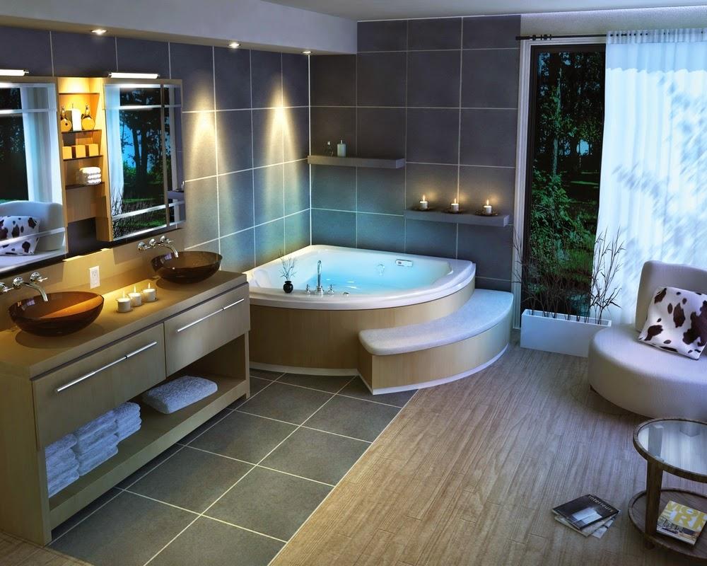 Salle de bains de luxe design for Meuble salle de bain design luxe