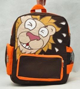 tas anak konoka lughing lion