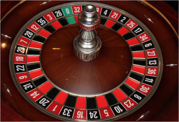 roulette bet on black