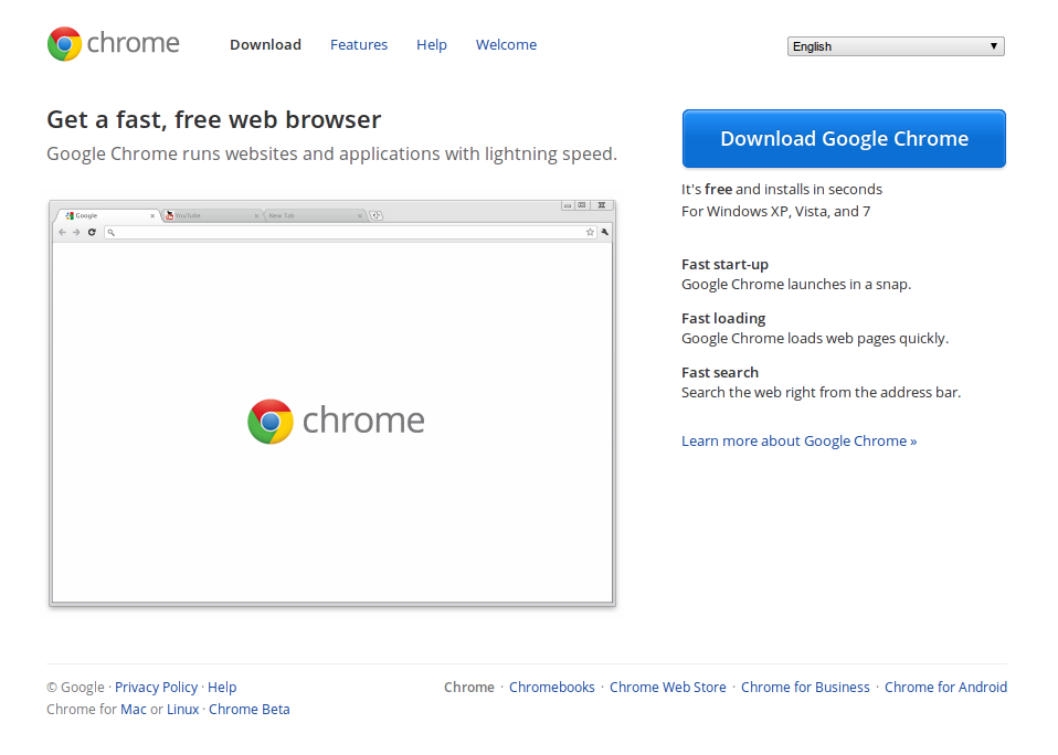 Google Chrome Download Free Latest Version