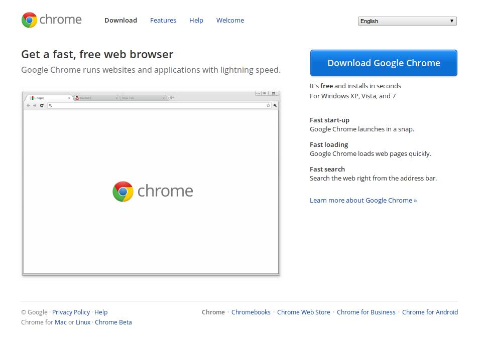 Install Google Chrome Full
