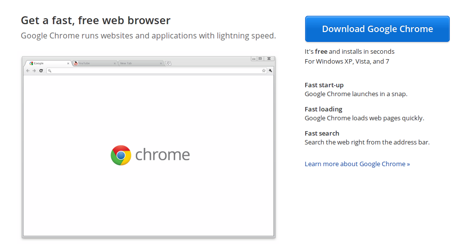 Chrome web browser download for windows