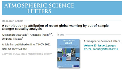 Atmospheric Science Letters January March 201