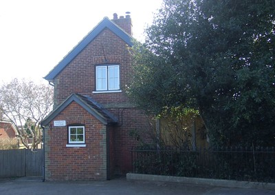 Signalmans Cottage at the Admiralty Cottage Alverstoke