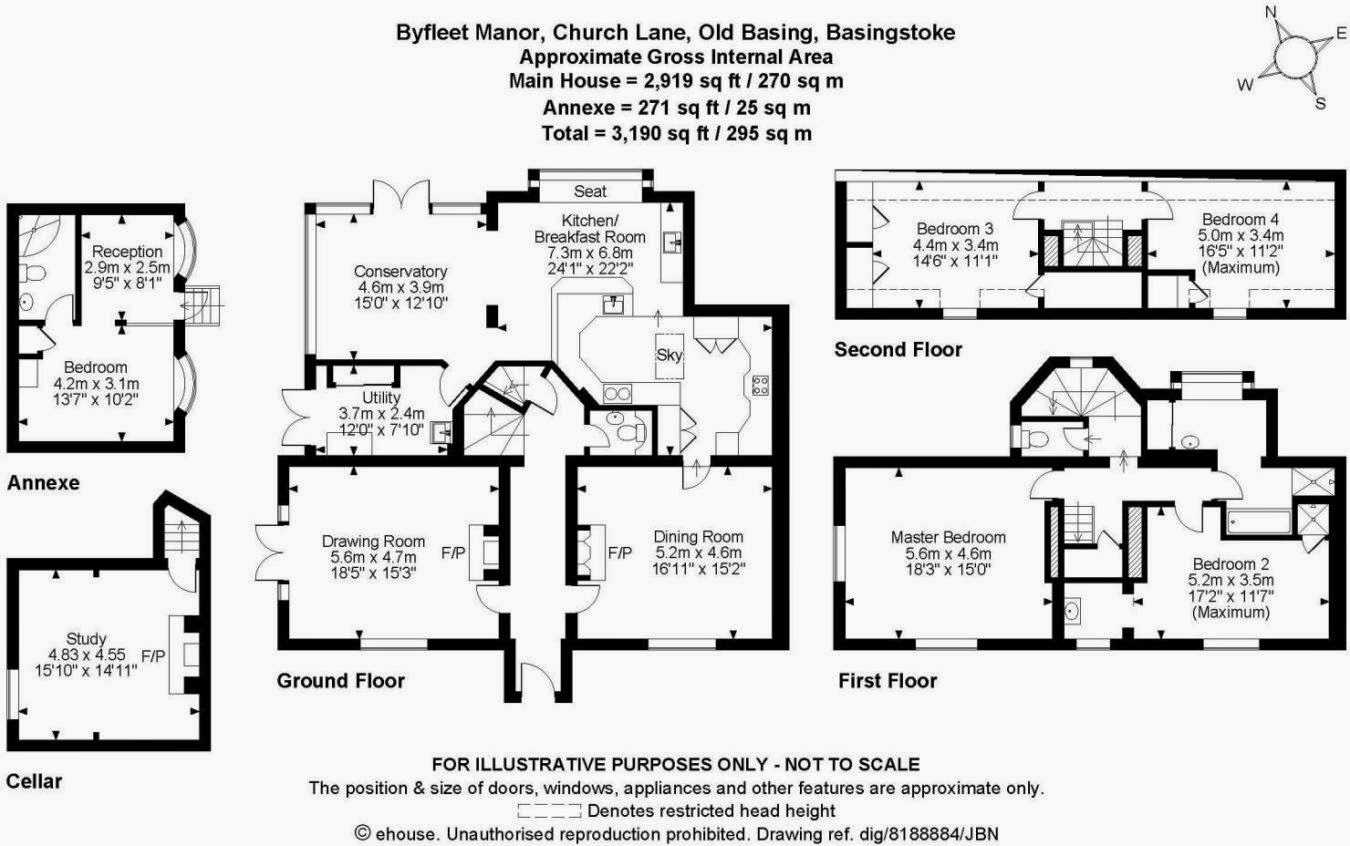 21 beautiful english manor floor plans home plans for Manor house plans