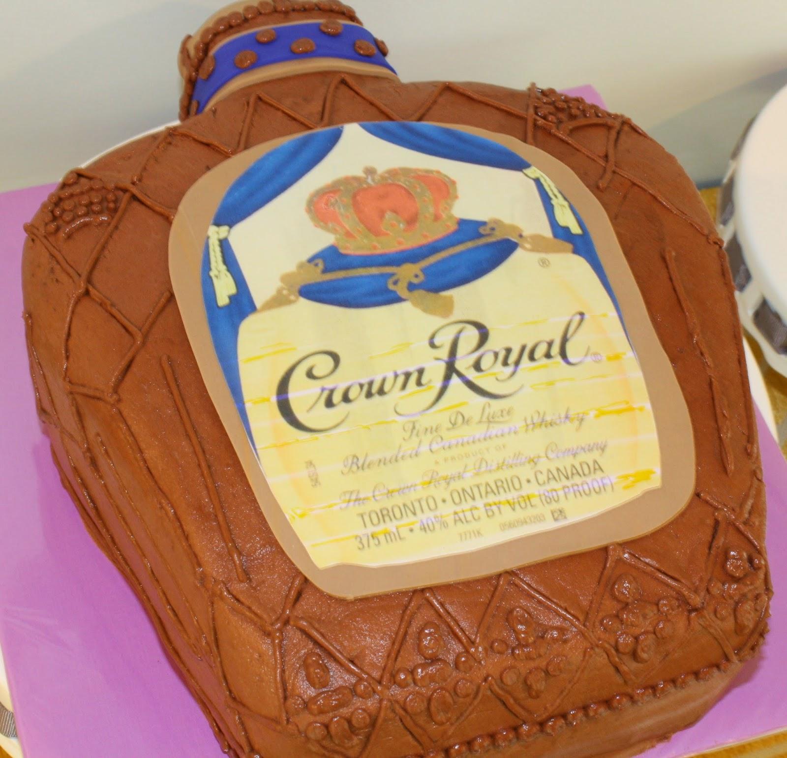 Kake Crown Royal Cake