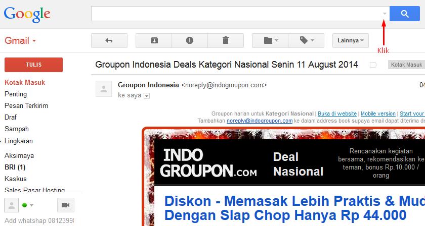Block Alamat Email Dengan Gmail (Google Mail) 2