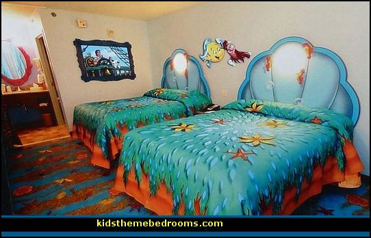 Decorating theme bedrooms - Maries Manor: Little Mermaid Ariel ...