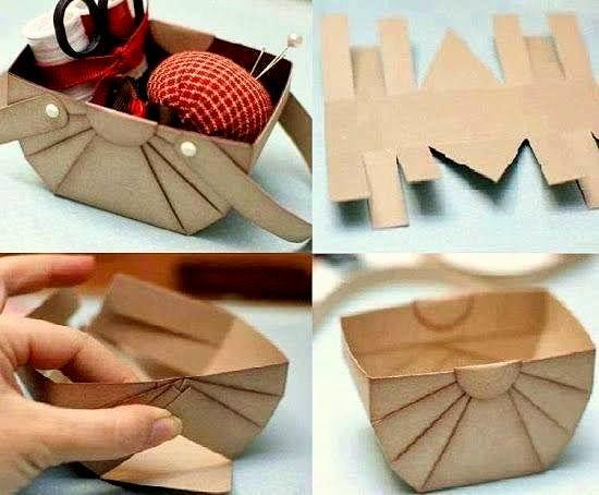 cara membuat bekas serbaguna dari bahan kitar semula