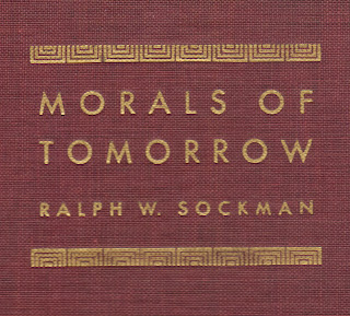 Morals of Tomorrow vintage book cover