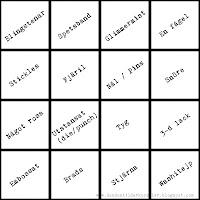 Bingobricka, en spännande utmaning!