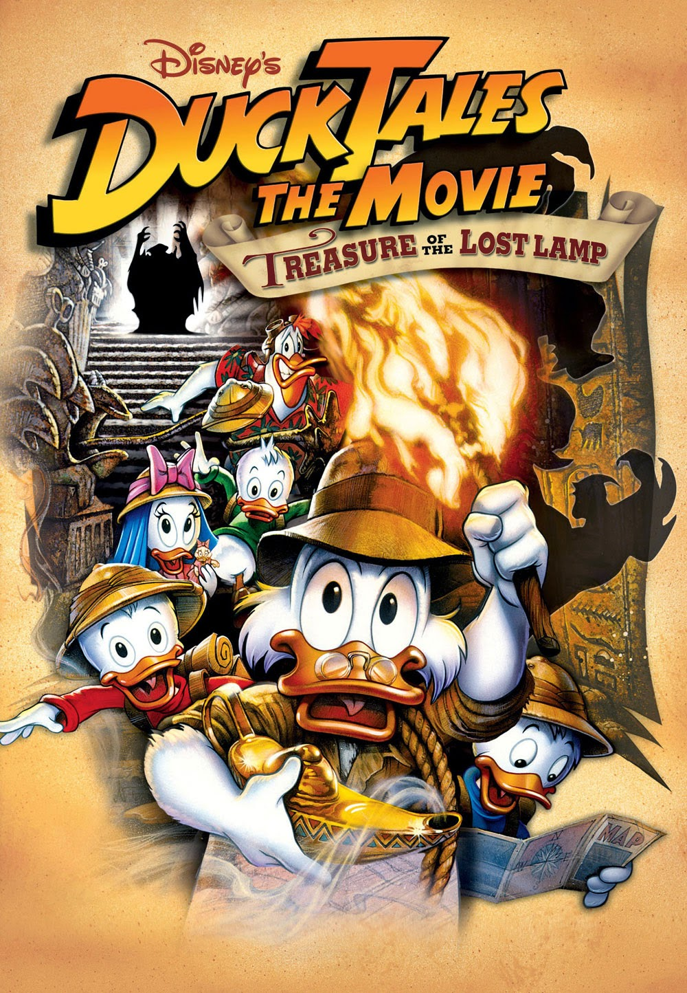 DuckTalse: The Movie - Treasure of The Lost Lamp