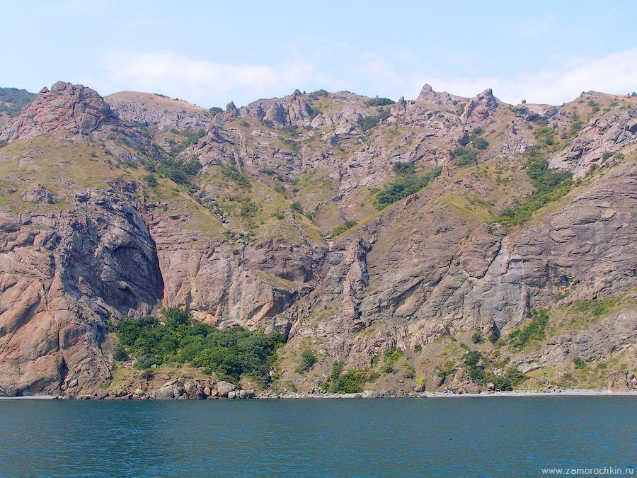 Кара-Даг. Хребет Магнитный | Kara-Dag. Magnet ridge.