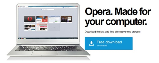 web browser opera turbo