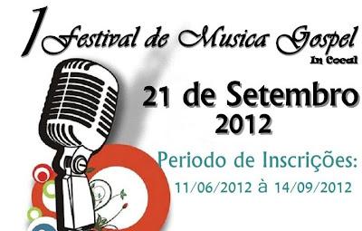 Festival de musica gospel em Cocal