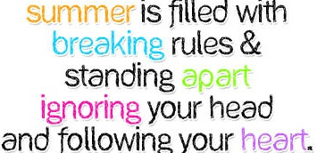 The Twin Antics Inspiring Quote For Summer