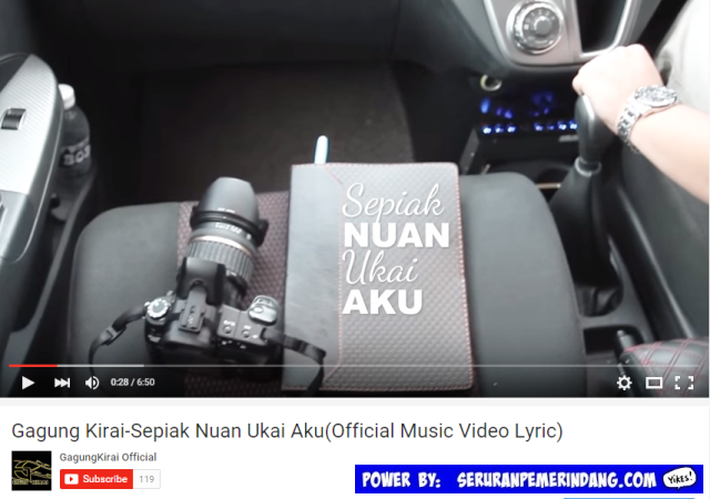 Single 'Sepiak Nuan Ukai Aku' Gagung Kirai