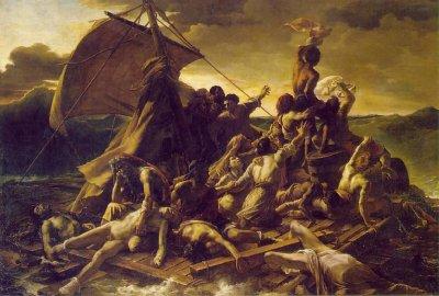 """La Balsa de la Medusa"" · Théodore Géricault"