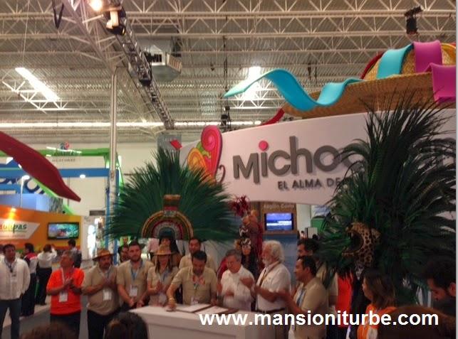 Firma de Convenio entre Michoacán y el Parque Temático de Xcaret