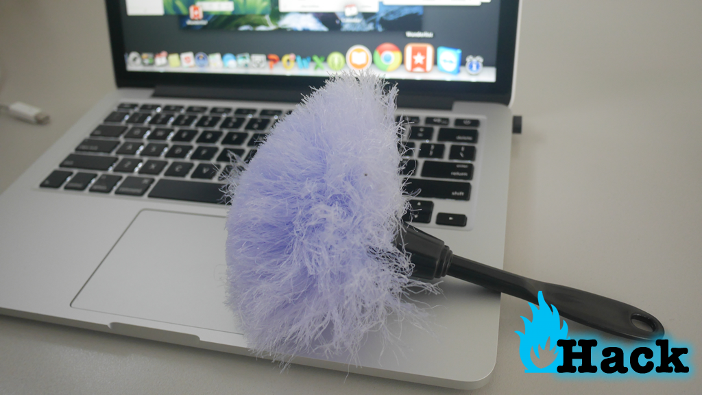 use cheaper alternative anti-static cleaning brush to clean gadgets