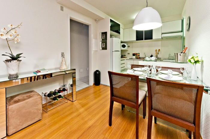 decoracao de ambientes pequenos apartamentos:Apartamento pequeno decorado