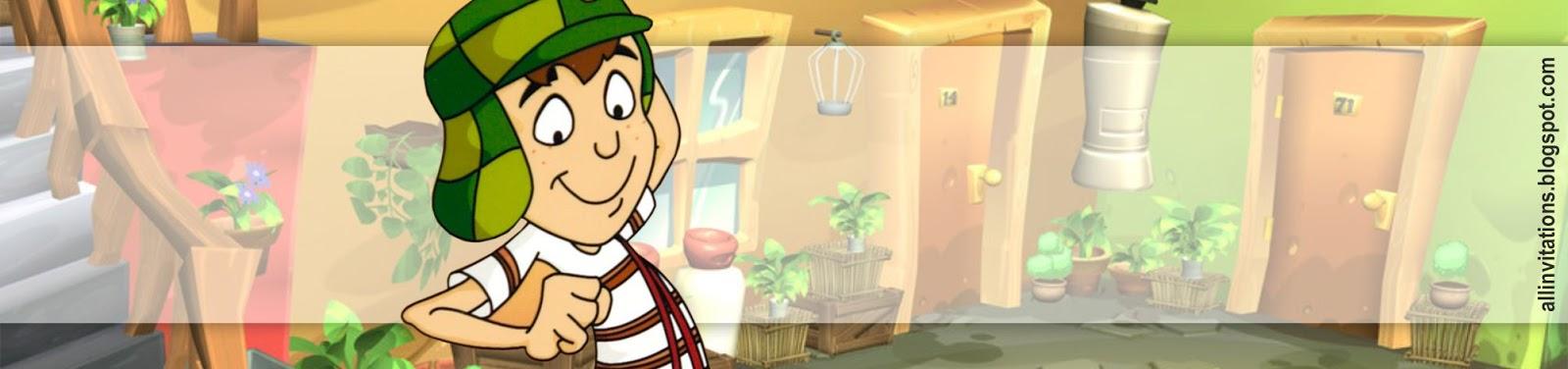 etiqueta botella chavo del 8 animado all invitations