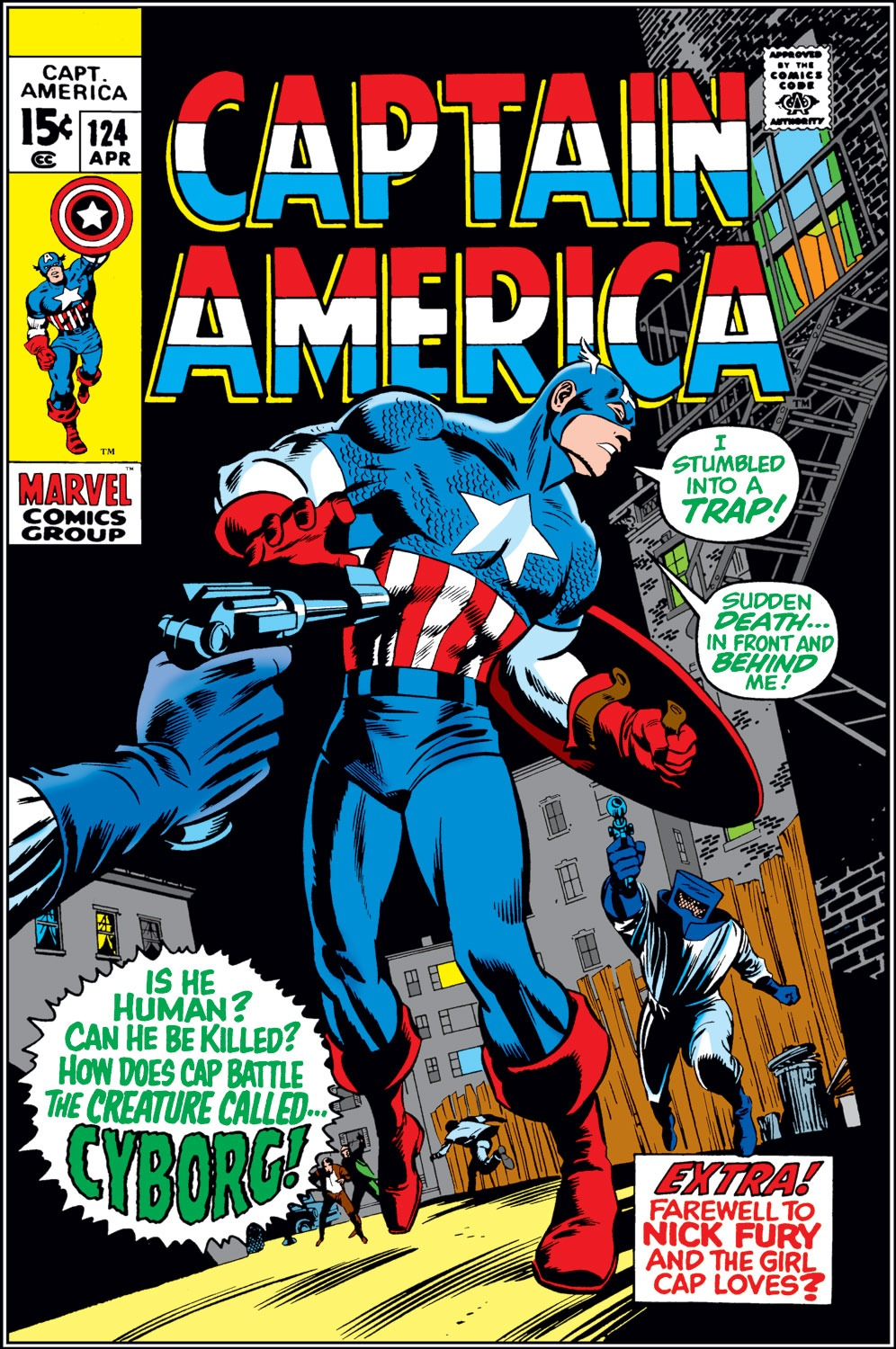 Captain America (1968) Issue #124 #38 - English 1