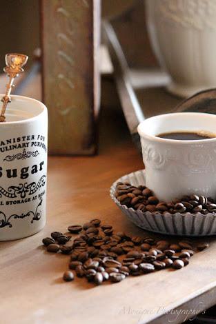 Spitze, Zink und Kaffeebohne