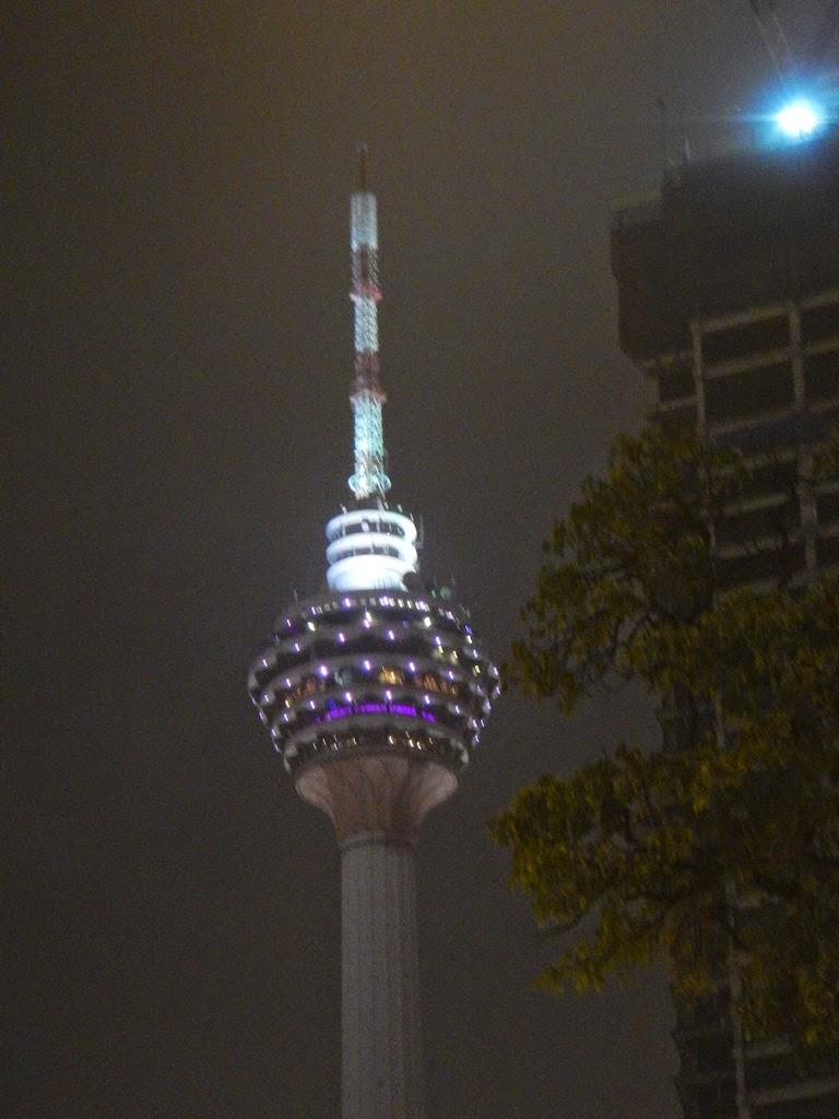 Kuala Lumpur by night KL Tower